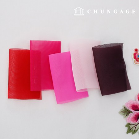 Hanbok Fabric Hanbok Fabric Sunlight Fluorescent pink