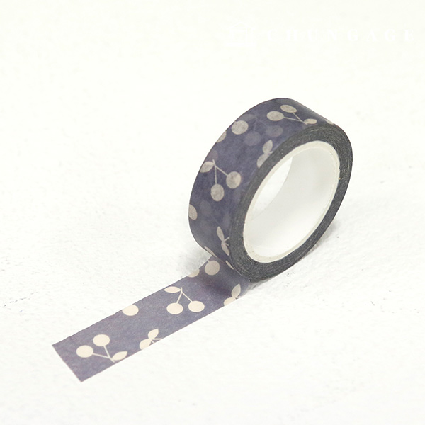 Design Paper masking tape) cherry stick rod TA041