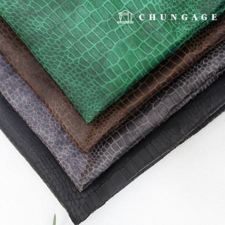 Special price) wide-artificial crocodile leather) matte crocodile (4 kinds)