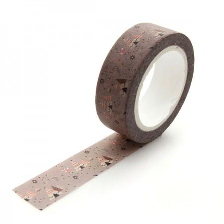 Design Paper Masking Tape Indie Camp TA072