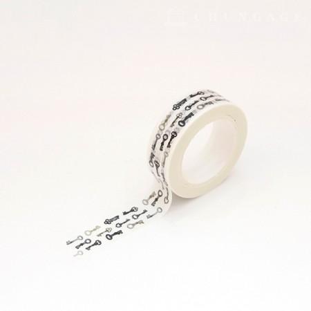 Design Paper Masking Tape Antique Key TA077