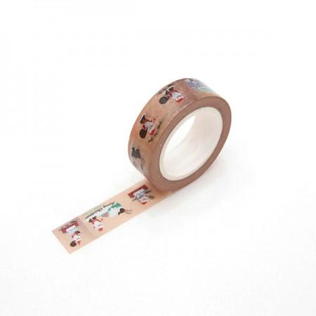 Design Paper Masking Tape Santa TA083