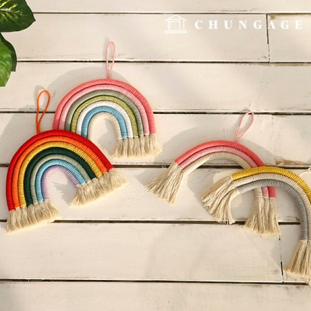 Macrame Rainbow Wall Hanging 4 types