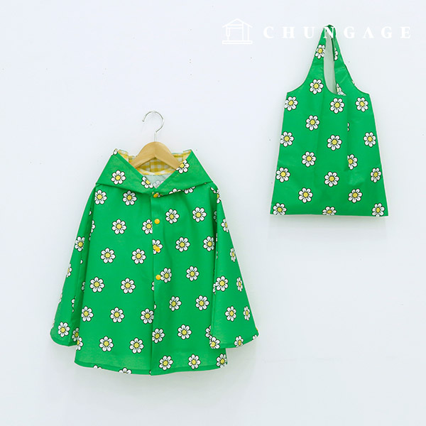 Widely DTP waterproof fabric kitchidai Green W074