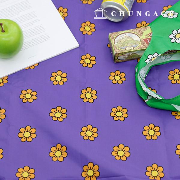 Widely DTP waterproof fabric kitjidai Purple W075