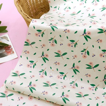 Waterproof fabric non-toxic TPU laminate cloth Latte