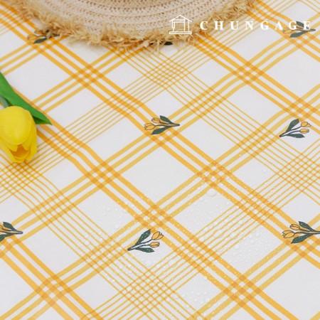 Waterproof Fabric Non-toxic TPU Laminate Mango Tulip