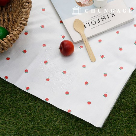 Waterproof Fabric Non-toxic TPU Laminate Good Morning Apple