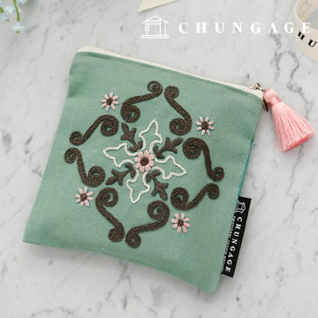 French embroidery package Flower DIY kit Persian Pouch CH-560115