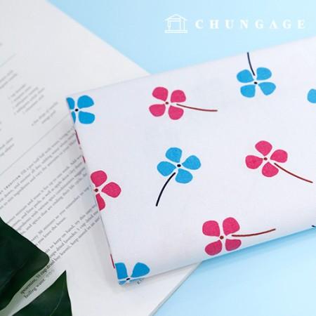 Cotton fabric 20-piece Print fabric wide four-leaf clover