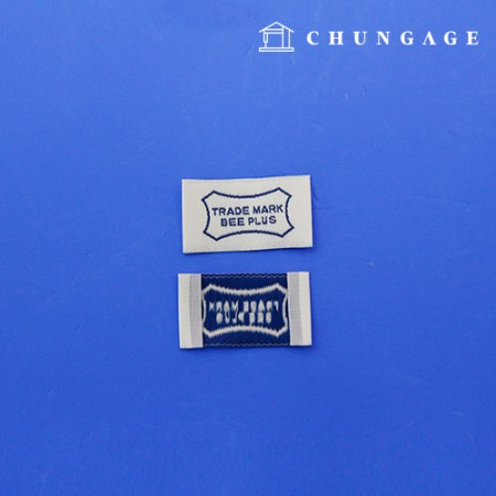 Double-sided label trademark B plus 5 pieces KL044