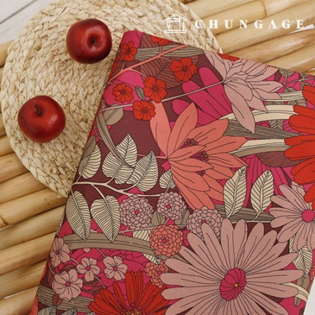 Red Gerbera with high-grade double-sided protection thick waterproof bag support group