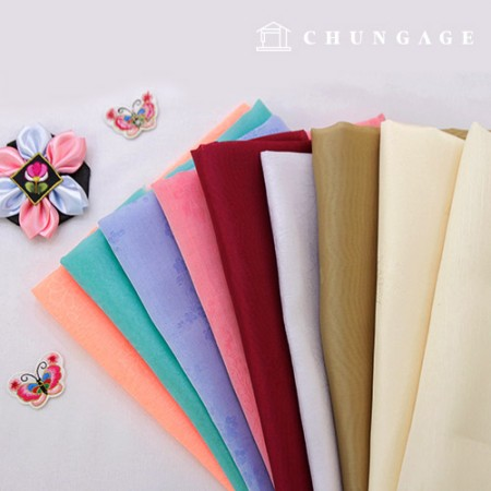 Hanbok Fabric Hanbok Fabric Pieces 9 kinds