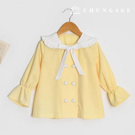 Clothing pattern children blouse clothing pattern [P1351]