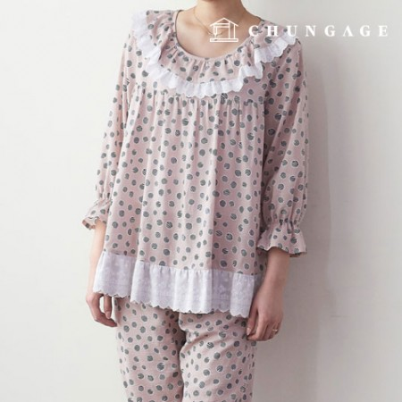Clothing Pattern Women's Pajamas Set Costume Pattern [P1365]