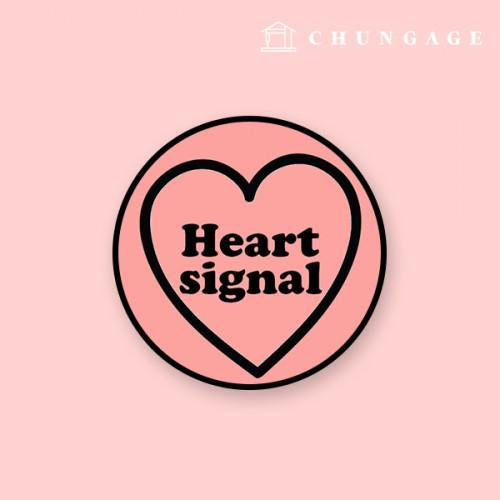 Smart Talk Mobile Phone Holder) Heart Signal GR085