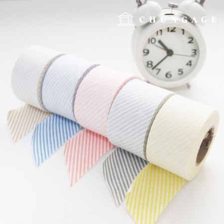 Bias Single Daimaru Stripe, 5 types