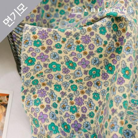 Cotton brushed microfiber fabric Jardino