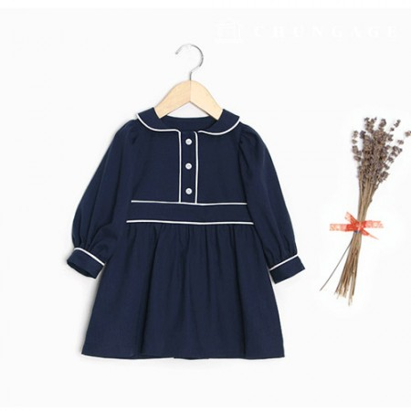 Clothing pattern children's dress clothing pattern [P1434]