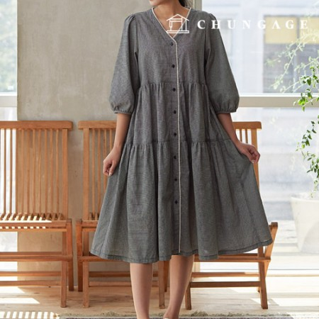Clothing pattern Women's dress clothing pattern [P1426]