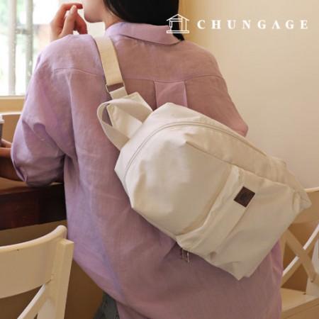 Bag pattern cross Sling backs [P1391]
