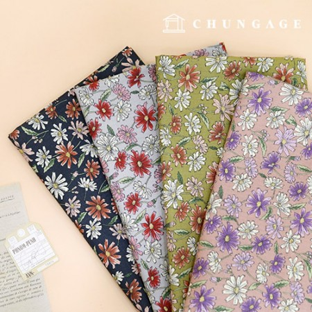 20 cotton fabric cosmos 4 types