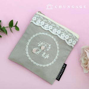 French Embroidery Package Flower DIY Kit Race Secret Pouch CH-560130