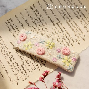 French Embroidery Package Flower DIY Kit Sherbet Tick Pin CH-512569