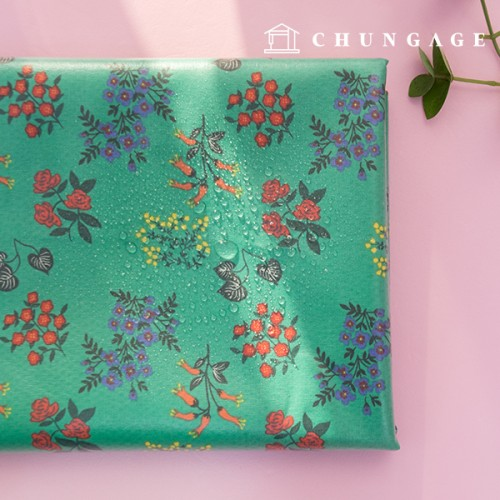 Waterproof fabric laminate Non-toxic TPU waterproof fabric Freshmore Flower floral design