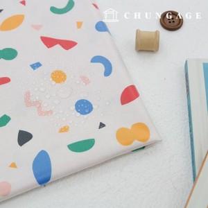 Waterproof fabric laminate Non-toxic TPU waterproof fabric Mallow Terrazzo unique Patterns