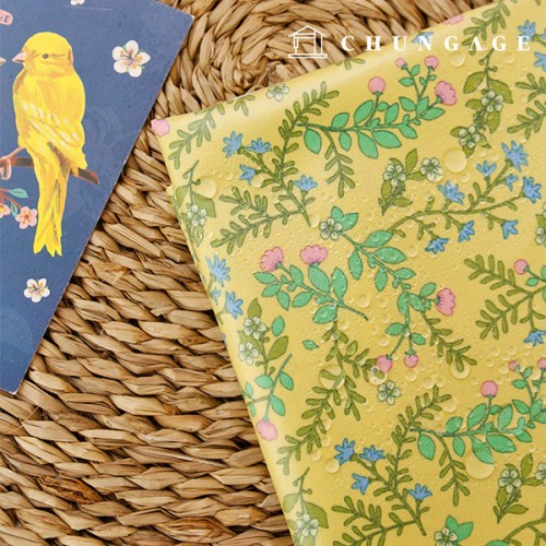 Waterproof fabric laminate Non-toxic TPU waterproof fabric Breezeway Flower floral design
