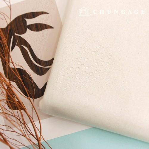 Waterproof fabric laminate Non-toxic TPU waterproof fabric whiteivory plain