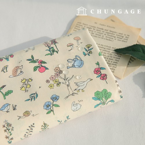Waterproof Fabric Non-toxic TPU Laminate Fabric Tiny Village