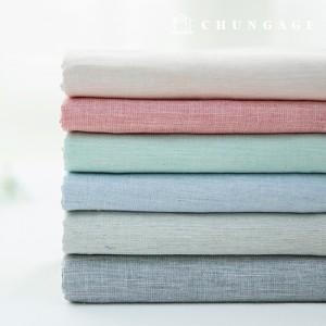 Slup Gauze Cotton Fabric Melan Washing Gauze 6 types of Meli