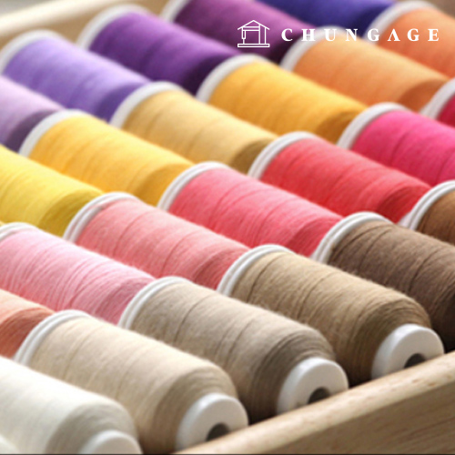 Coresa Sewing Thread Sewing Thread Athena Prime Larasil Household Industry Subsidiary General Jeans Sewing Thread Overlock Set Collection Exhibition