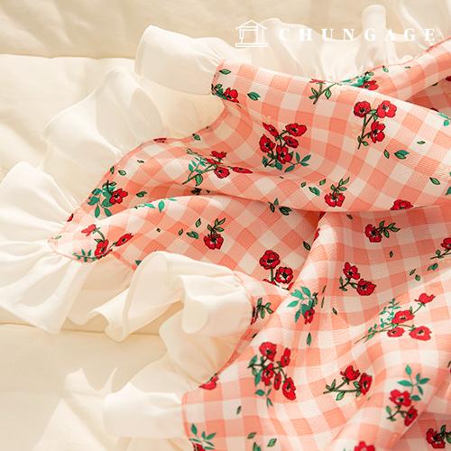 Human silk fabric Refrigerator Fabric Non-fluorescent fabric Soft material Summer Mask Making Red Velvet 931