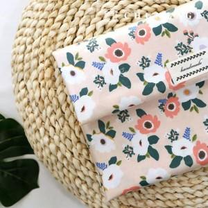 Waterproof Fabric Laminate Non-toxic TPU Waterproof Fabric Poplar Flower Floral Pattern