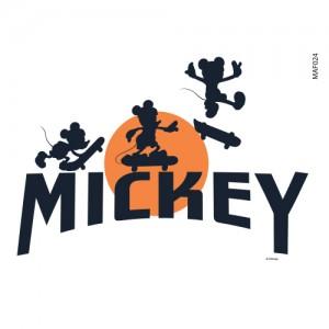Clothing Transfer Paper Fly Mickey 2 Eco Bag Reform Thermal Transfer Film Sticker MAF024