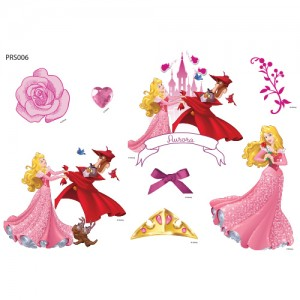 Clothing Transfer Paper Twinkle Sleeping Beauty Eco Bag Reform Thermal Transfer Film Sticker PRS006